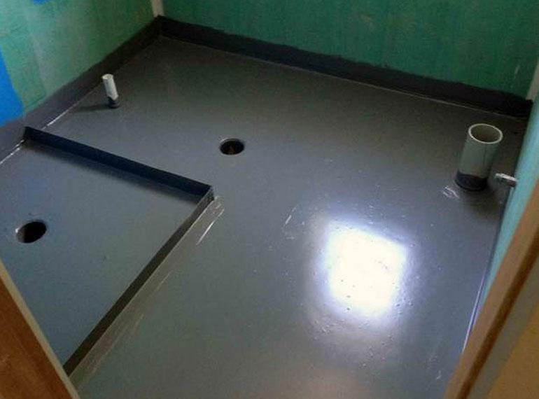 обмазочная гидроизоляция пола ванной