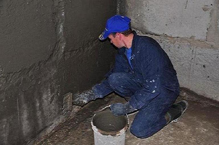 пенетрирующая цементная гидроизоляция