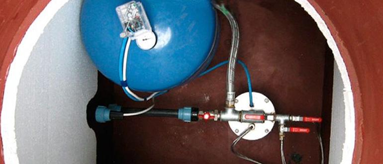 система водоснабжения из скважины