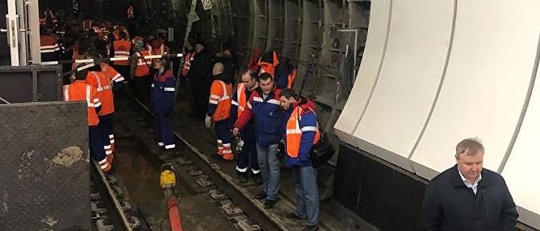 Подтопление московского метро