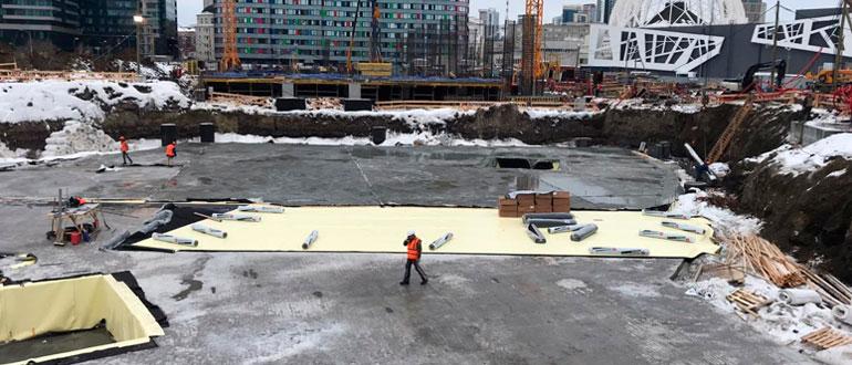 ремонтопригодная гидроизоляция фундамента