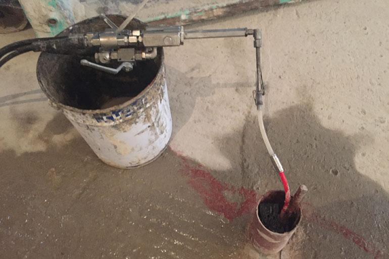 низковязкий акрилатный гель для инъектирования